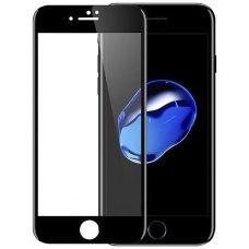 Защитное стекло 5D для iPhone 7 Black