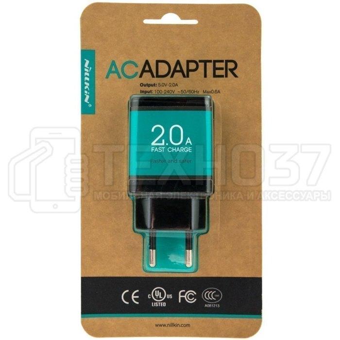 Зарядное устройство Nillkin Fast Charge AC Adapter Черный