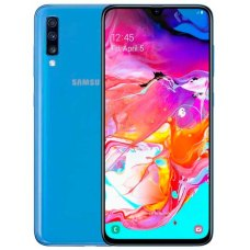 Смартфон Samsung Galaxy A70 6Gb + 128Gb Синий
