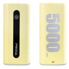 Портативный Аккумулятор Remax Proda E5 Series Powerbank 5000mAh Yellow