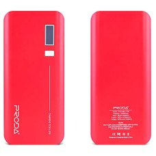 Портативный Аккумулятор Remax Proda Jane Powerbank 20000mAh Red