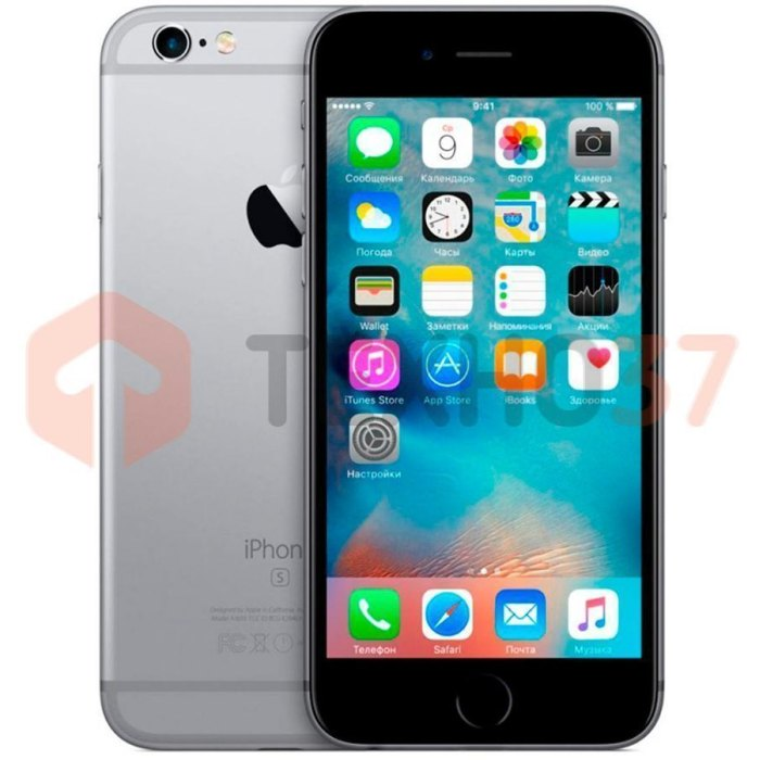 Смартфон Apple iPhone 6S 64Gb Space Gray