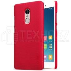 Чехол бампер Nillkin Phone Protection Case для Xiaomi Redmi Note 4X Red