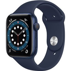 Умные часы Apple Watch S6 40mm Blue Aluminum Case with Deep Navy Sport Band