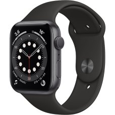 Умные часы Apple Watch S6 40mm Space Gray Aluminum Case with Black Sport Band