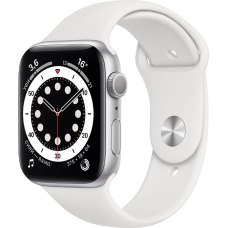 Умные часы Apple Watch S6 40mm Silver Aluminum Case with White Sport Band