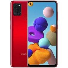 Смартфон Samsung Galaxy A21s 3/32Gb Красный