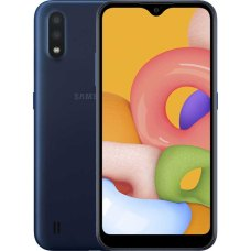 Смартфон Samsung Galaxy M01 3/32Gb Синий