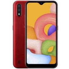 Смартфон Samsung Galaxy A01 2/16Gb Красный