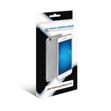 Силиконовый супертонкий чехол DF для Samsung Galaxy A10