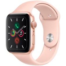Умные часы Apple Watch S5 44mm Gold Sport Band