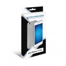 Силиконовый супертонкий чехол DF для iPhone 11 Pro