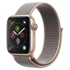 Умные часы Apple Watch S4 Sport 40mm Gold Aluminum Case with Pink Sand Sport Loop