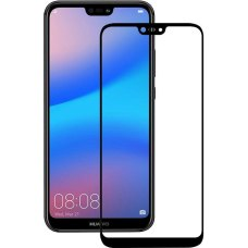 Защитное стекло 5D для Huawei P20 Lite Black