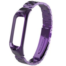 Металлический ремешок для Xiaomi Mi Band 4 Фиолетовый