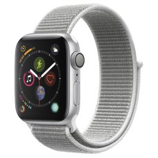 Умные часы Apple Watch S4 Sport 40mm Silver Aluminum Case with Seashell Sport Loop