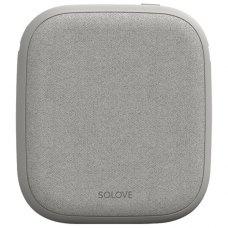 Портативный аккумулятор с поддержкой беспроводной зарядки Xiaomi SOLOVE W5 10000mAh Grey