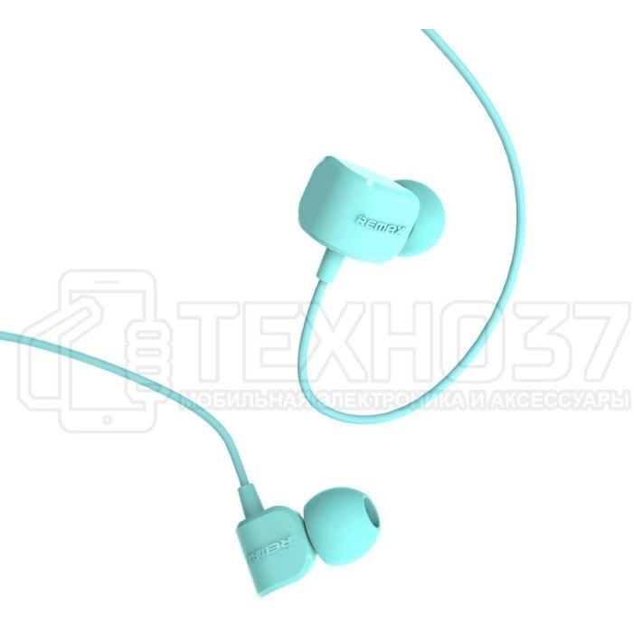 Наушники Remax Earphone RM-502 Blue