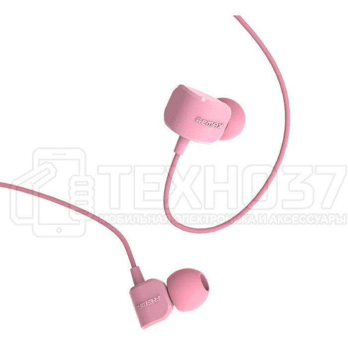 Наушники Remax Earphone RM-502 Pink