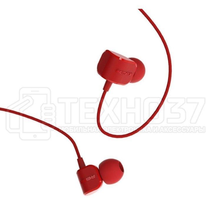 Наушники Remax Earphone RM-502 Red