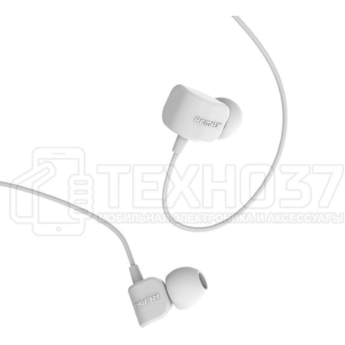 Наушники Remax Earphone RM-502 White