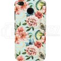 "Чехол-бампер для Xiaomi Redmi 4X ""Flowers"""