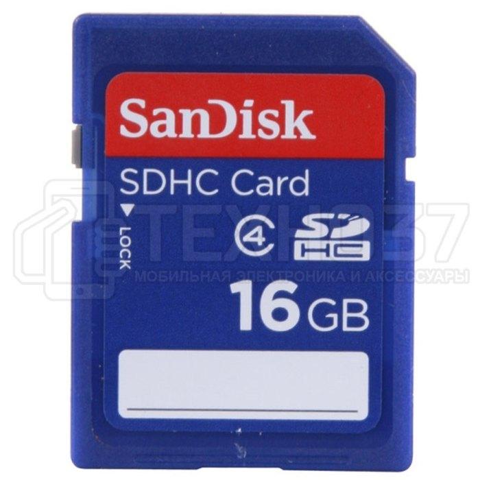 Карта памяти SDHC 16GB SDSDB-016G-B35 SANDISK