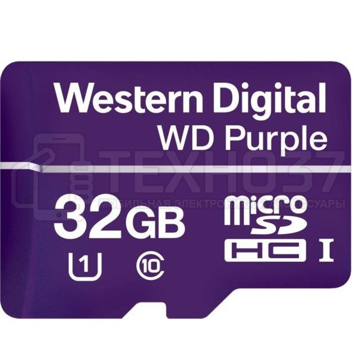 Карта памяти MICRO SDHC 32GB UHS-I WDD032G1P0A WDC