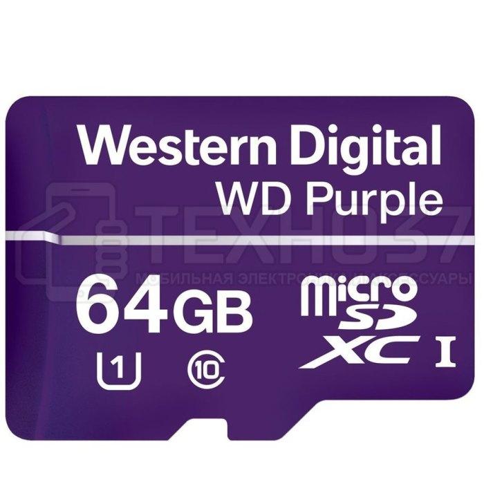 Карта памяти MICRO SDXC 64GB UHS-I WDD064G1P0A WDC