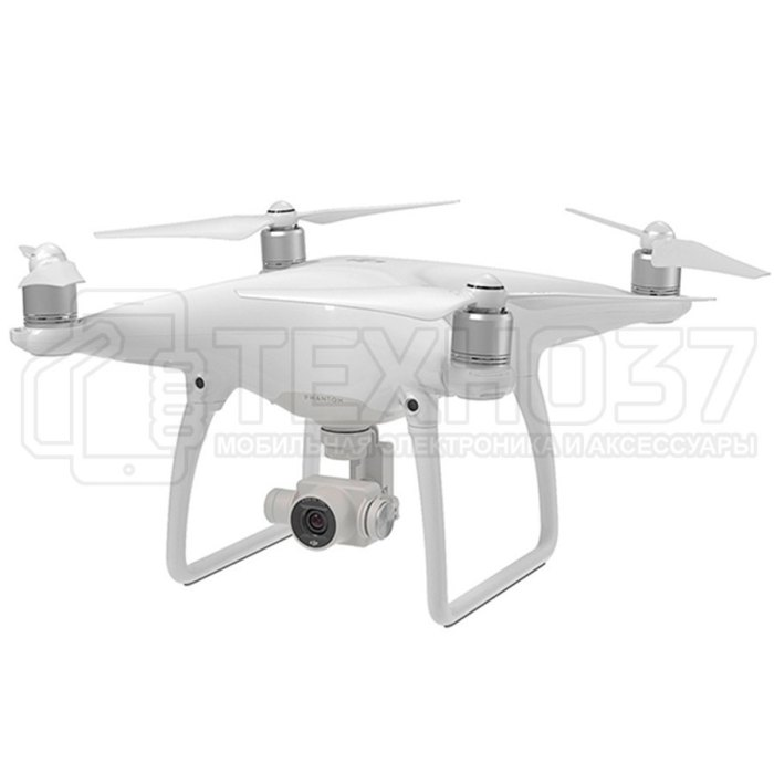 Квадрокоптер DJI Phantom 4 White