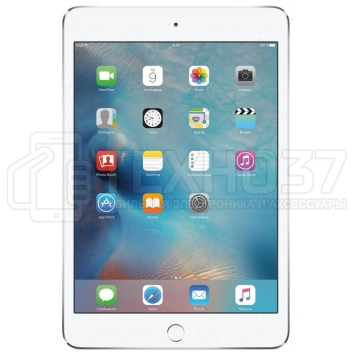 Планшет Apple iPad Mini 4 128Gb Wi-Fi + Cellular Silver