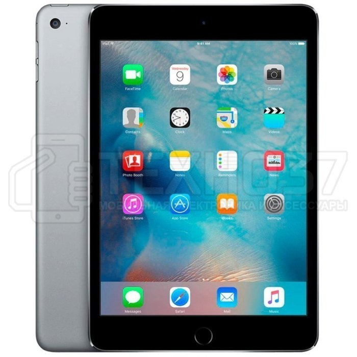 Планшет Apple iPad Mini 4 128Gb Wi-Fi + Cellular Space Gray