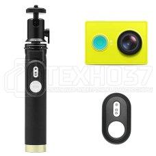 Экшн-камера Xiaomi Yi Bluetooth Selfie Stick Kit Зеленый